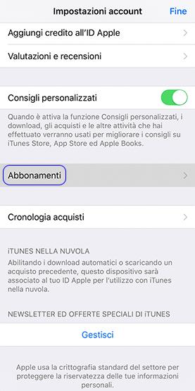 Come Vedere Ed Eliminare Abbonamenti Attivi Su IPhone
