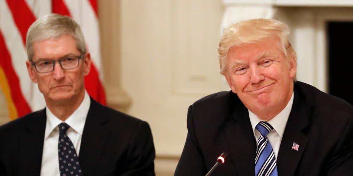 Trump fa guerra a Apple