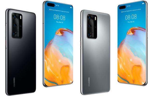Huawei P40 Pro rendering