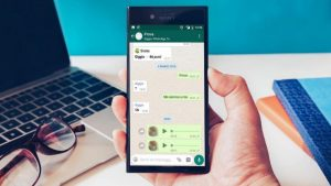 note audio WhatsApp
