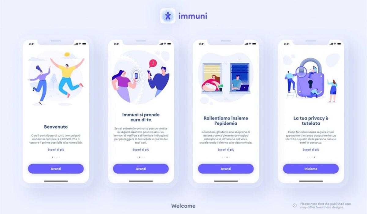 app immuni come funziona