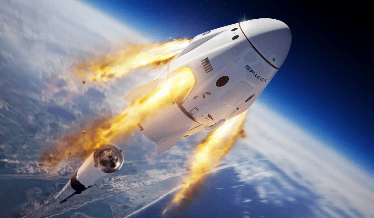 spacex lancio