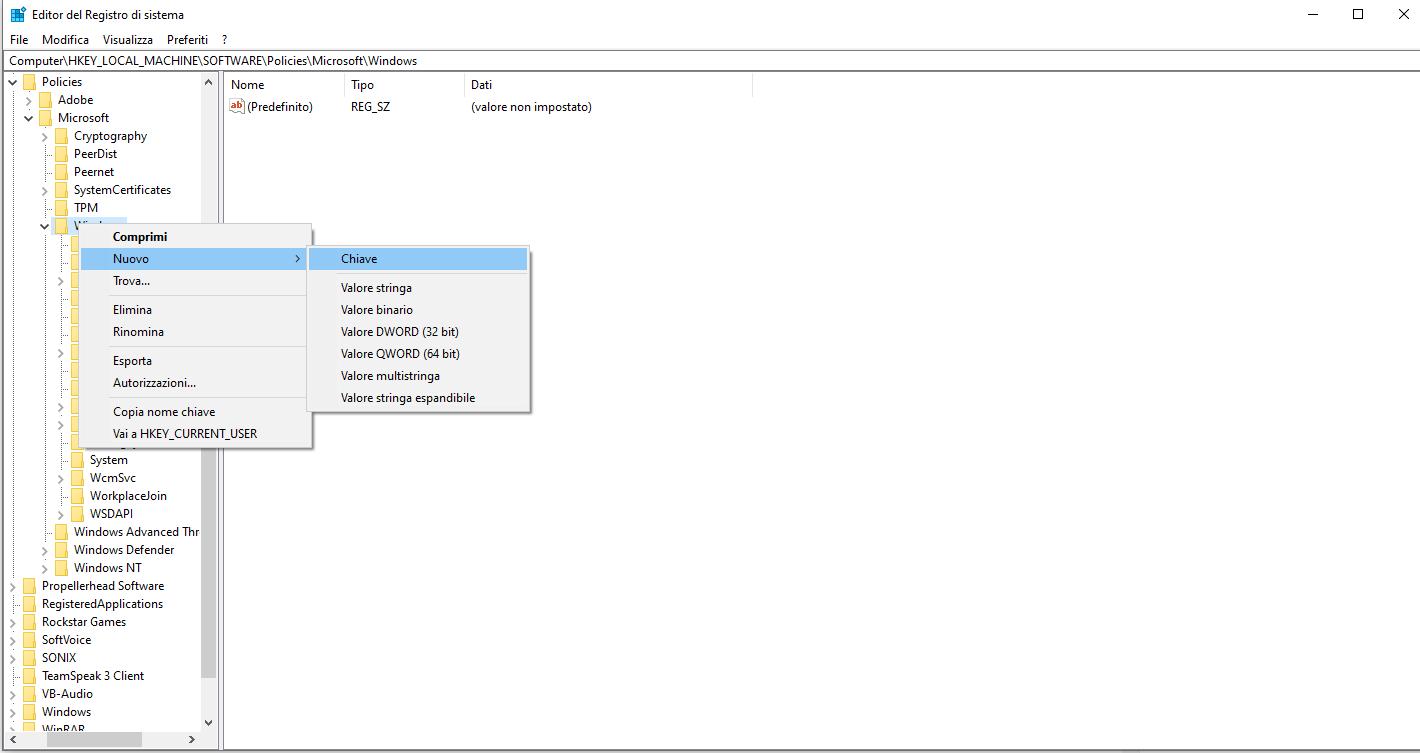 Come rimuovere completamente Cortana in Windows 10