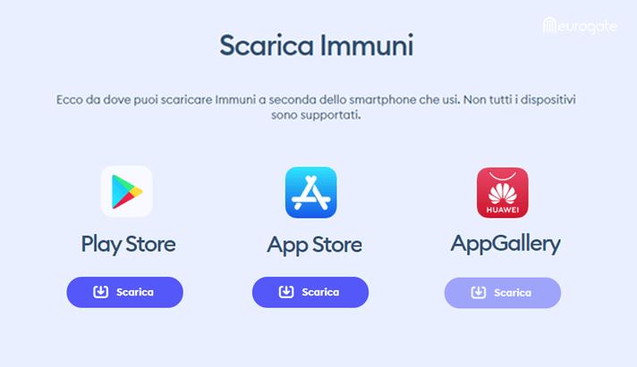 Scarica Immuni