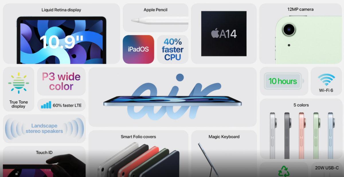 Evento Apple, Apple iPad Air