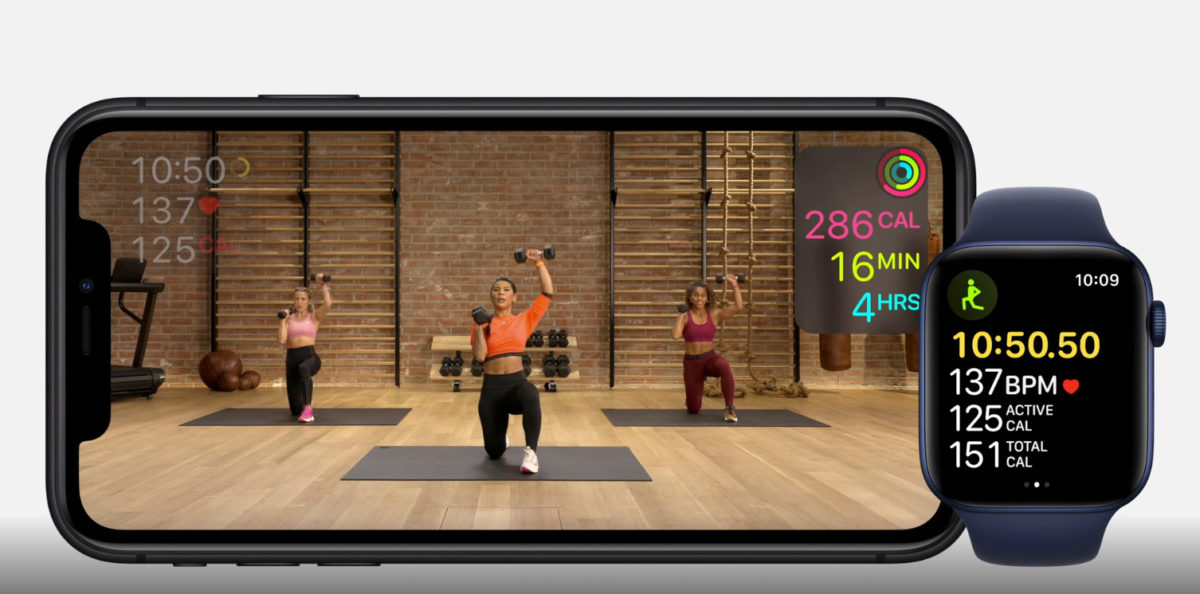 Evento Apple fitness +