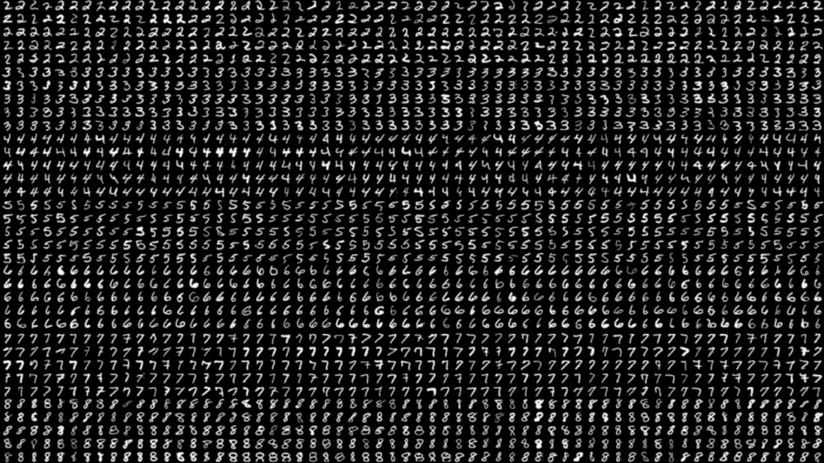 """""""less than one"""" experiment on MNIST"""
