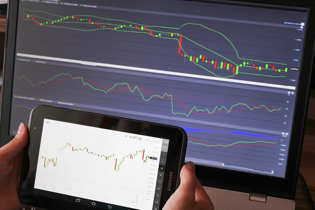 finanza - trading con vr e ar