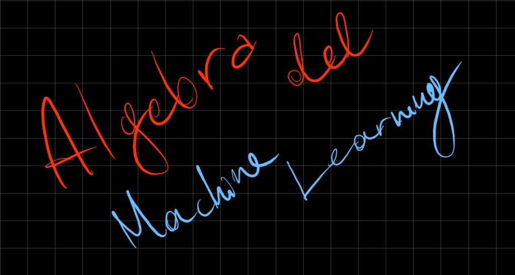 Algebra machine learning - Matrici